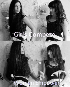 [girls-compete+women-empower]